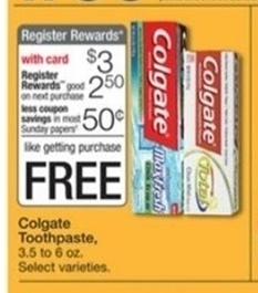 Make $0.50 When You Buy Colgate Toothpaste at Walgreens Next Week!