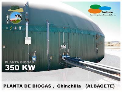 contenedor planta de biogas chinchilla albacete 350 KW INDEREN biodigestores ENERGIAS RENOVABLES VALENCIA