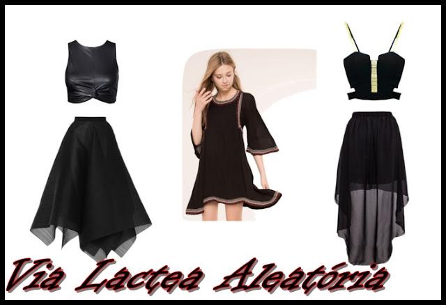 Ideias de como improvisar uma fantasia de bruxa com suas próprias roupas