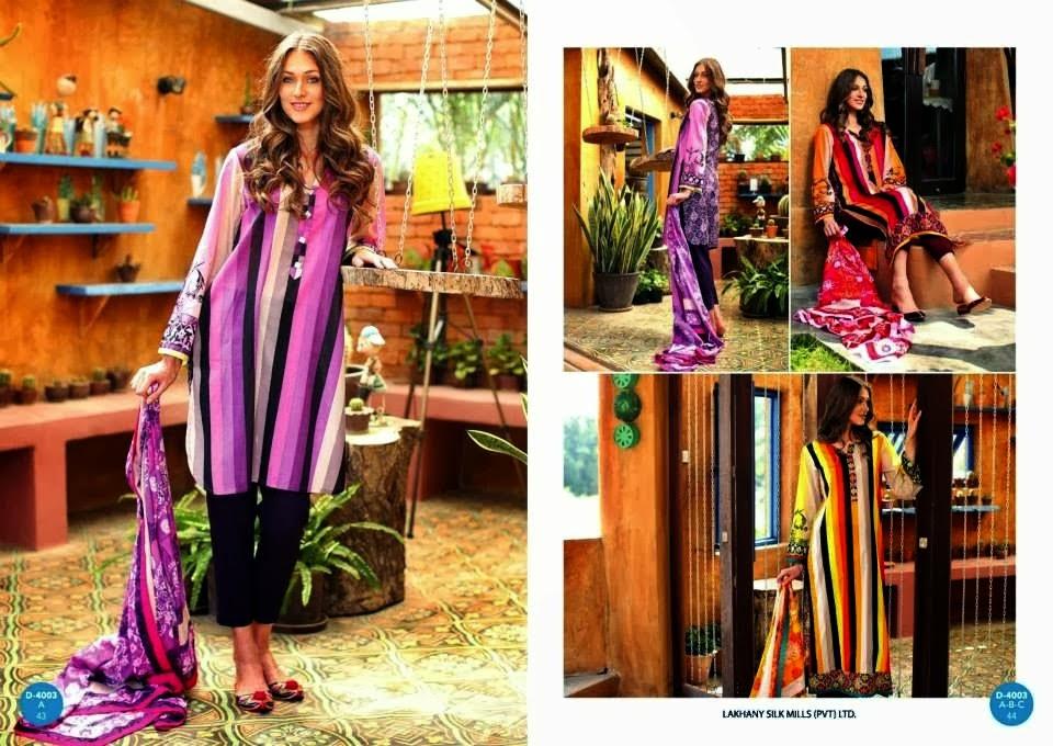 Lakhany Silk Mills Summer 2014 LAWN CATALOGUE
