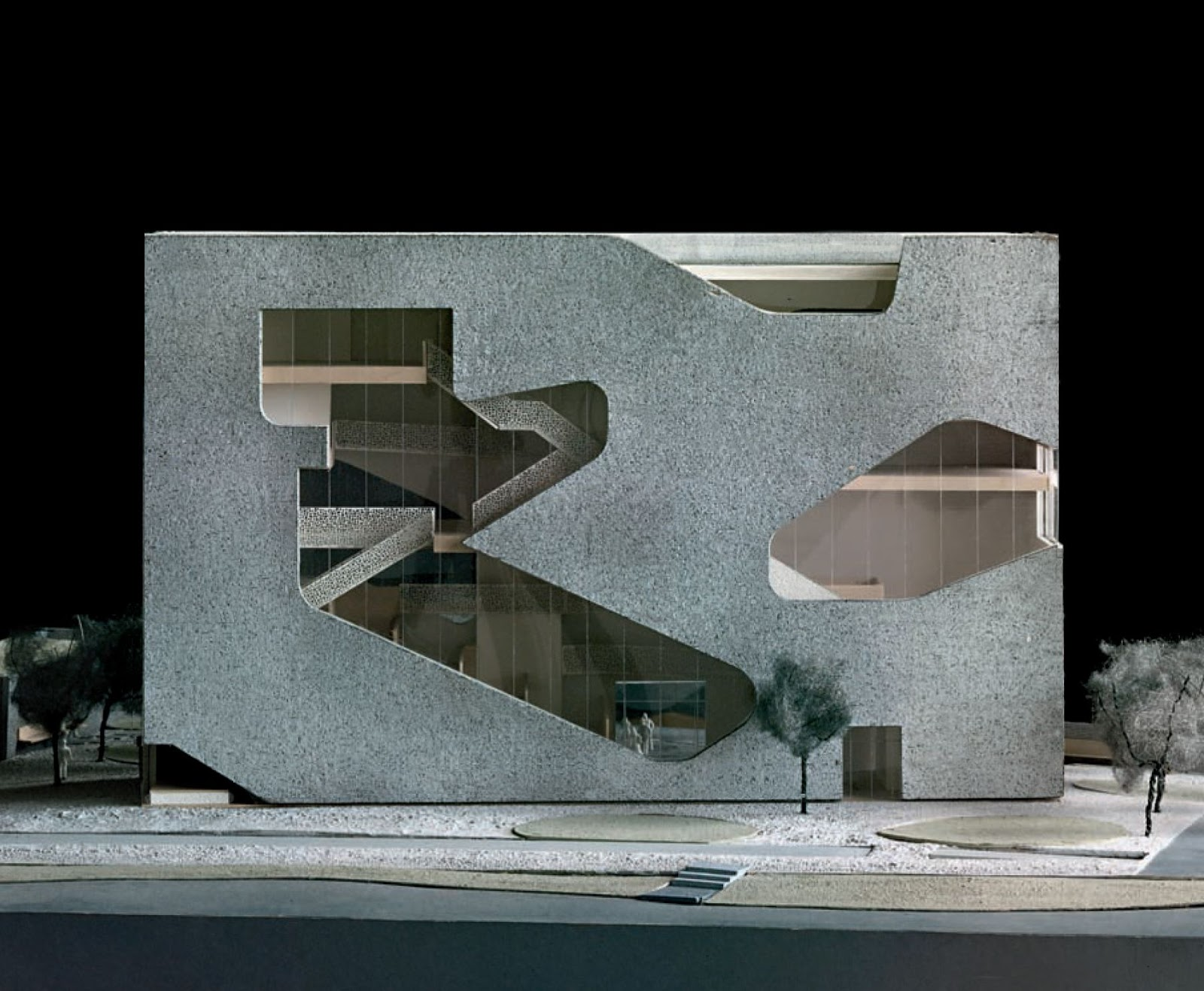 Steven holl architects a f a s i a for New space architects