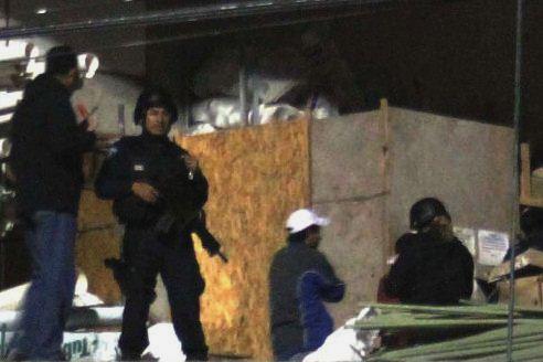 Movilización policíaca causa expectación