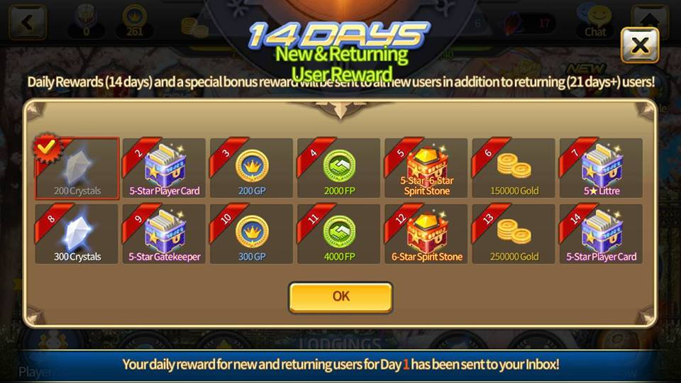 In Short If Youre A New User Or Havent Been Logged In For 21 Days You Will Get This 14 Days Daily Rewards Instead Of The Usual 28 Days Rewards