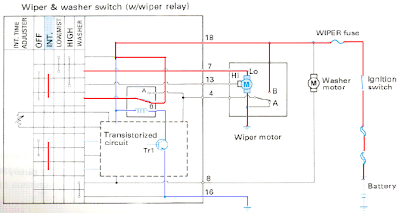 Wiring Diagram Cara Kerja Wiper Intermittent
