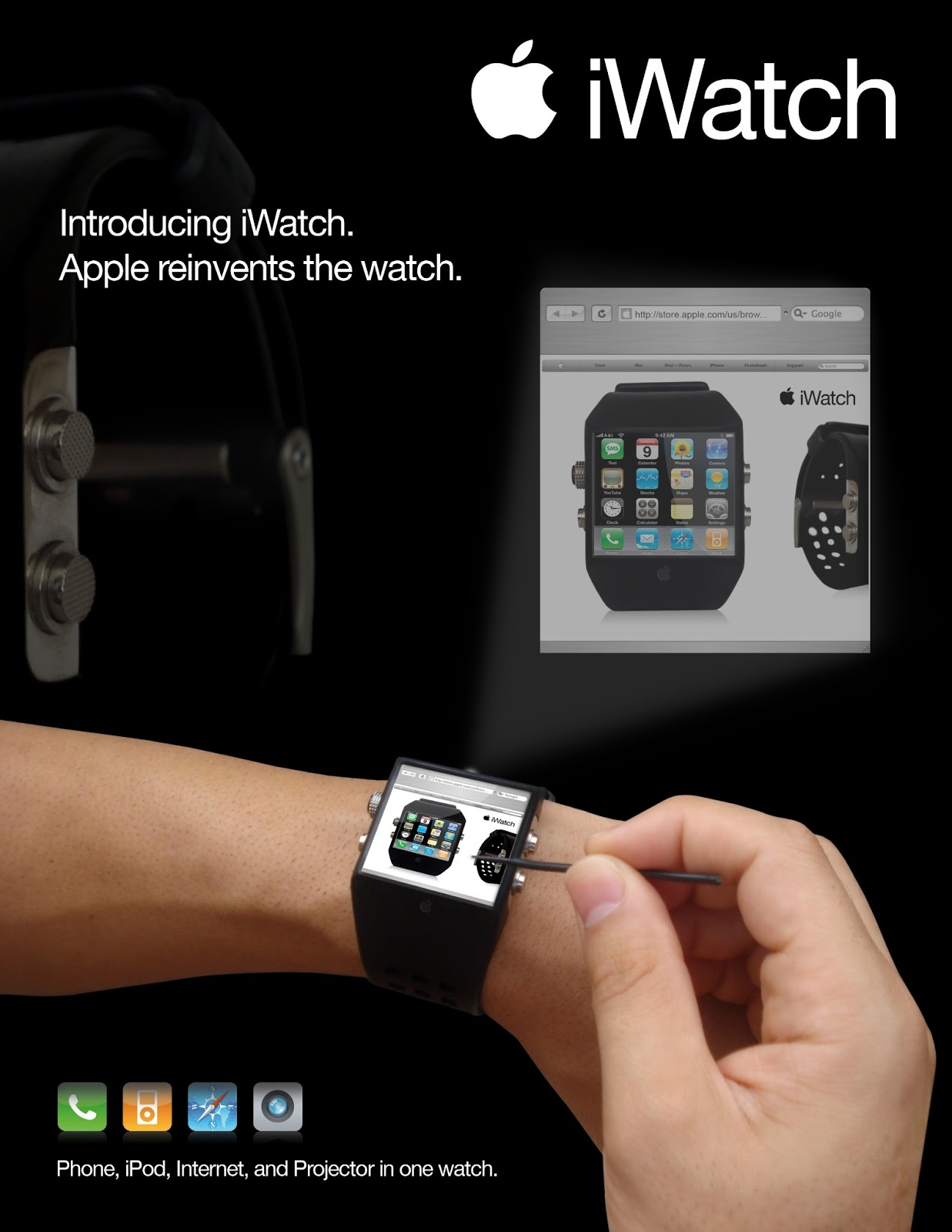 apple iwatch The apple watch series 3 includes an lte chip that reduces its reliance on  iphone, a faster s3 processor, a new w2 chip for faster and more efficient.