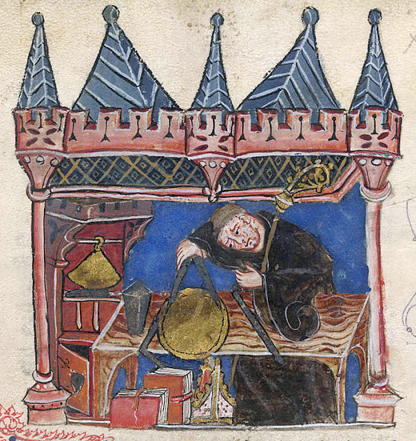 Day in Medieval Europe Cramped Office