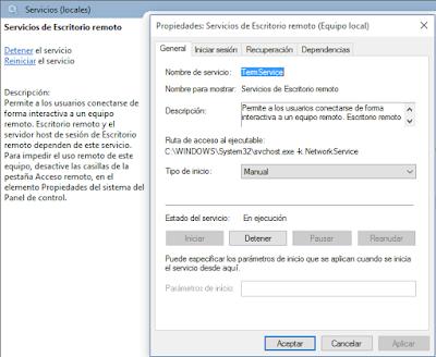 Cambiar puerto de conexi n de escritorio remoto rdp zona system - Puerto de conexion remota ...