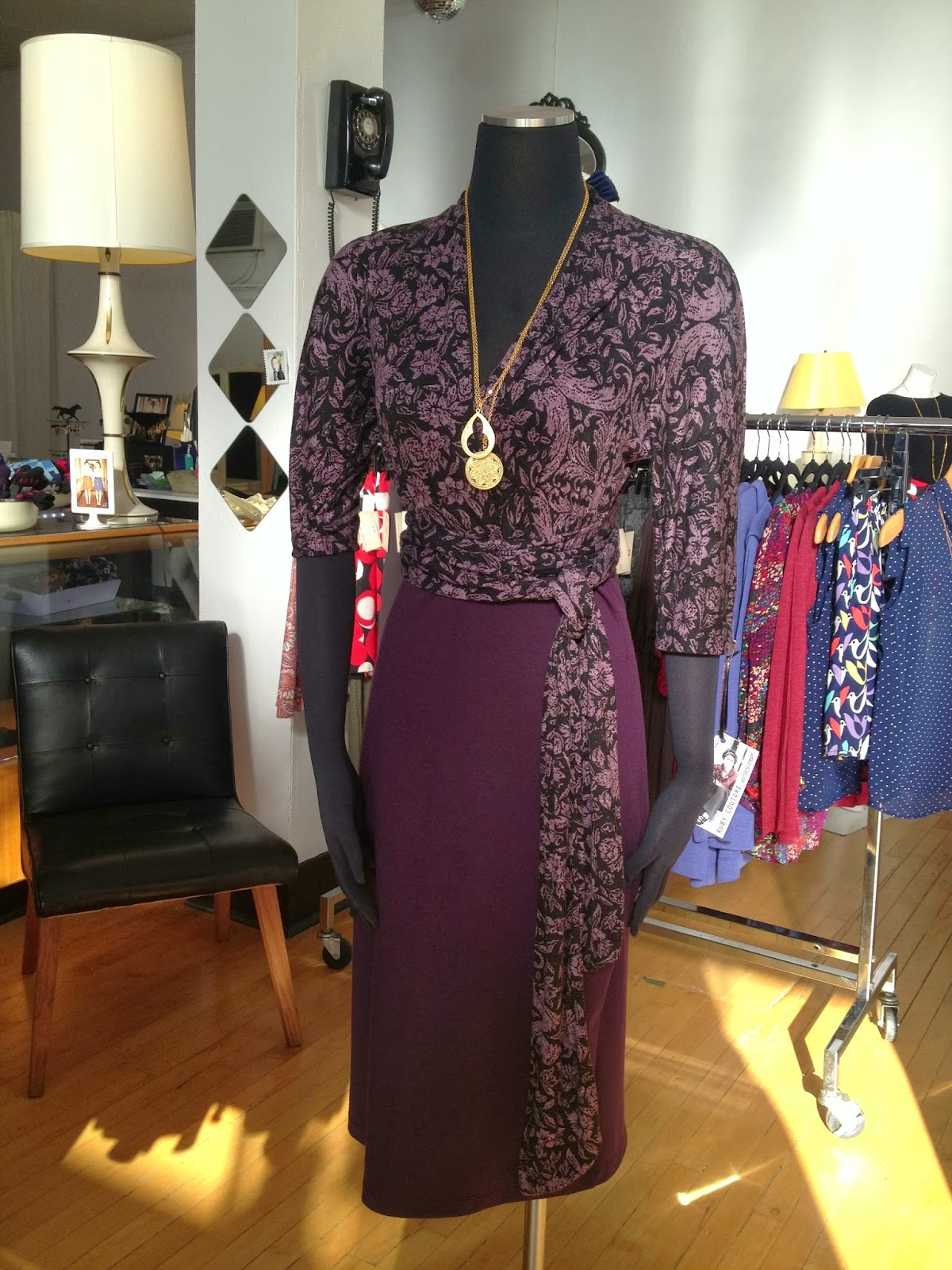 Ruby Couture reversible dress at Folly