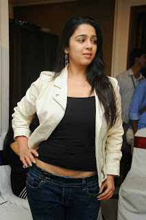 Actress Charmi Kaur Pictures in Jeans at One by Two Movie Celetes 20 Years Event 0075