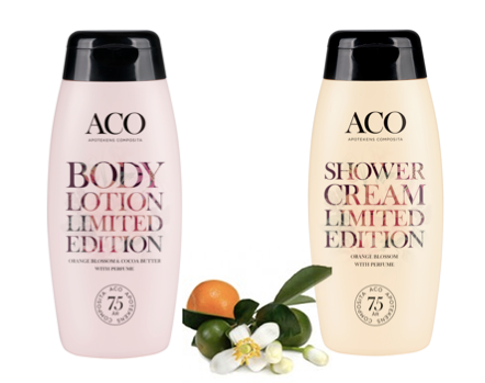 aco body lotion limited edition