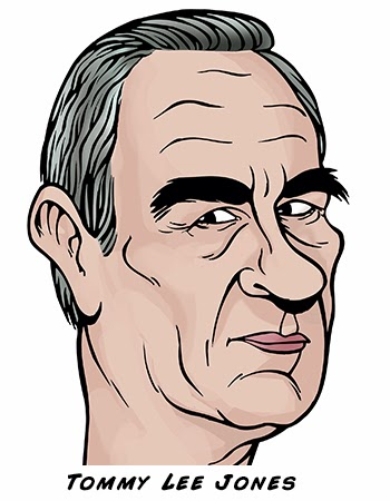 Tommy Lee Jones By Sophie Cossette