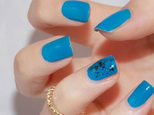 nail art sunsational china glaze blog beauté psychosexy