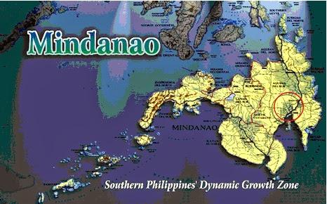 Mindanao Region Map
