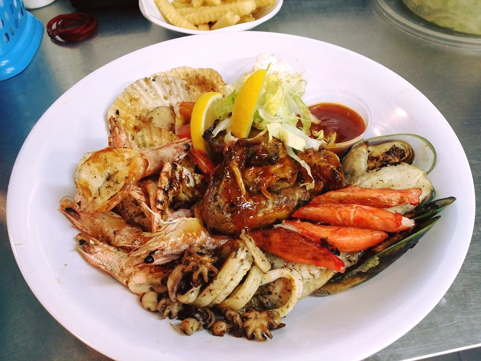 how to make a seafood platter