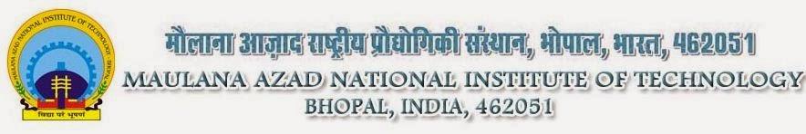 MANIT Bhopal Faculty