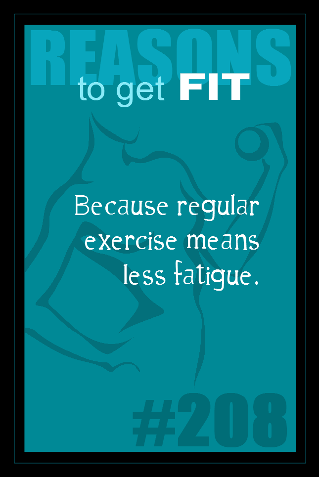 365 Reasons to Get Fit #208
