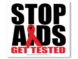 STOP OF SPREAD OF HIV...