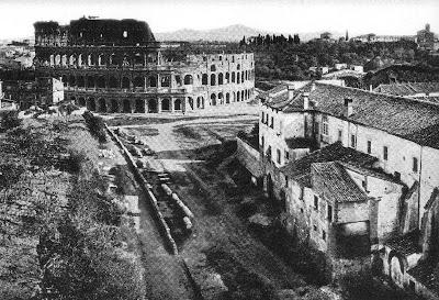 Via dei fori imperiali, prima di Mussolini