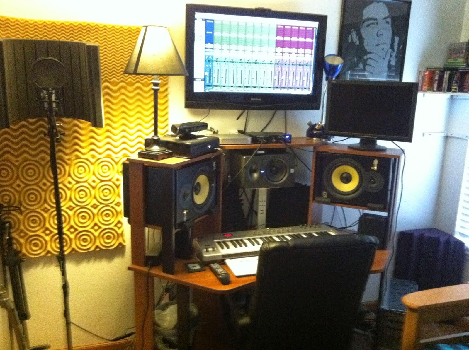 Как сделать запись в студии 326