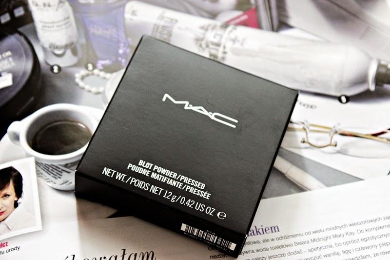 Idealny puder dla tłustolicych - MAC, BLOT POWDER PRESSED