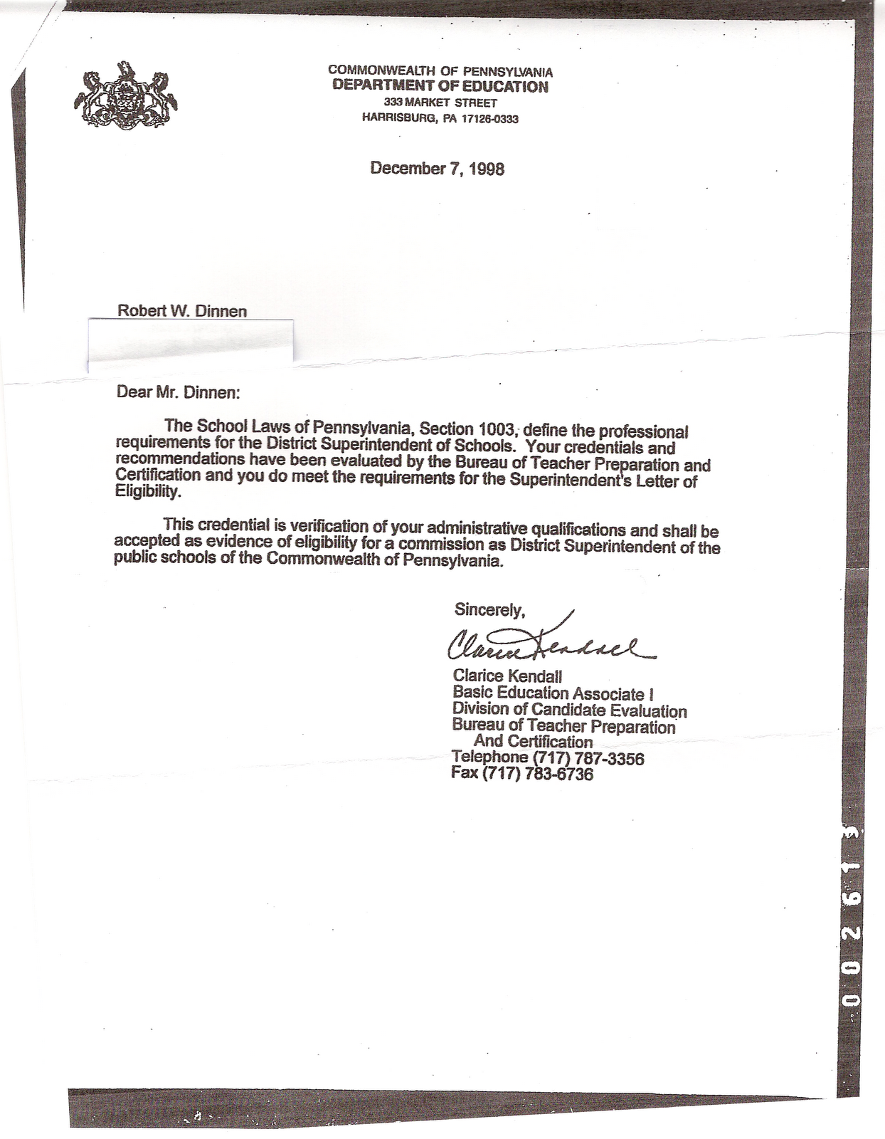 lets compare the 1998 letter of eligibility to the annulled letter from 1996
