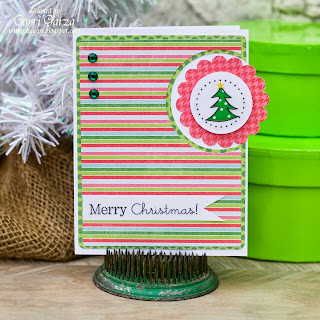 SRM Stickers Blog - Corri Garza - #christmas #cards #stickers #stickerstitches #stickersbythedozen