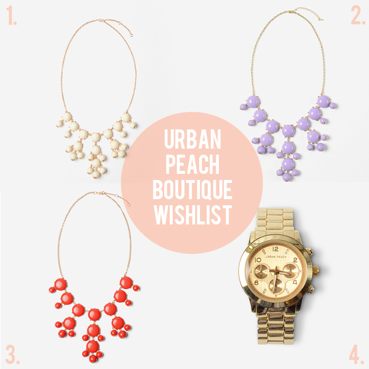 Urban Peach Boutique  Wishlist