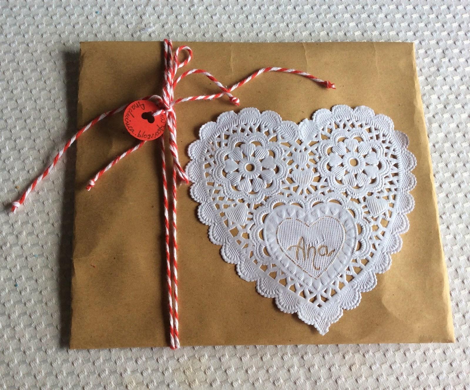 Anachicuca empaquetado reciclado para profesores y collares - Empaquetado de regalos ...