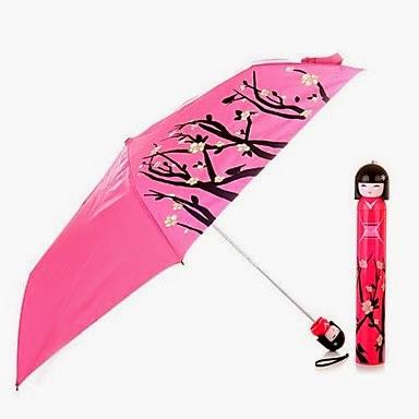 Paraguas Gheisa y Cerezos en Flor