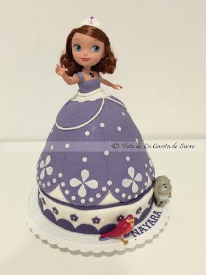 tarta princesa sofia 3D 2