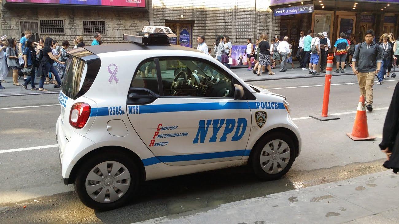 Vigilancia en Times Square