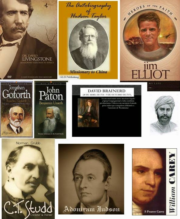 HERÓIS DA FÉ - Missionários que mudaram Nações