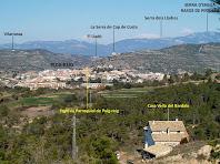 Panoràmica de Puig-reig i el seu entorn des de l'alçada de la Casa vella del Bardaix