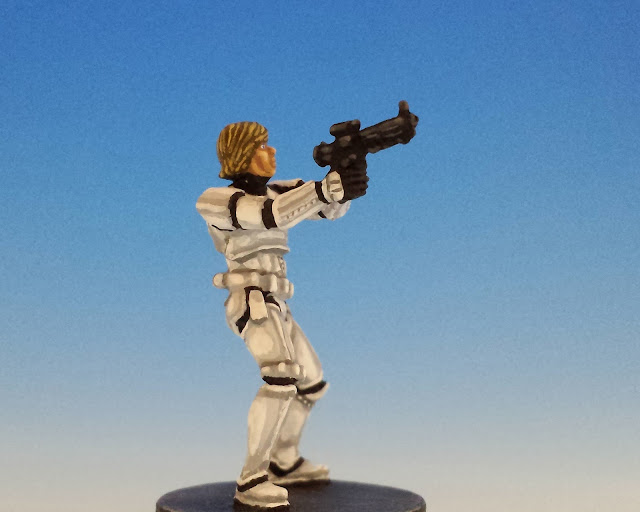 Painted Luke Skywalker Conversion for Star Wars Imperial Assault