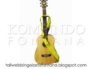 tali webbing untuk gitar