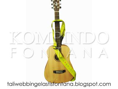 tali webbing untuk gitar atau guitar strap