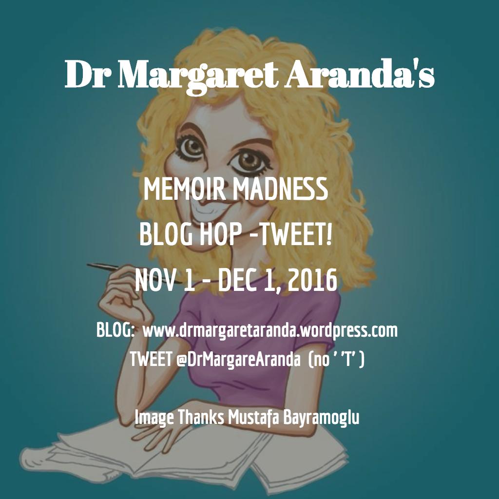 Dr Margaret Aranda's Writer's Challenge