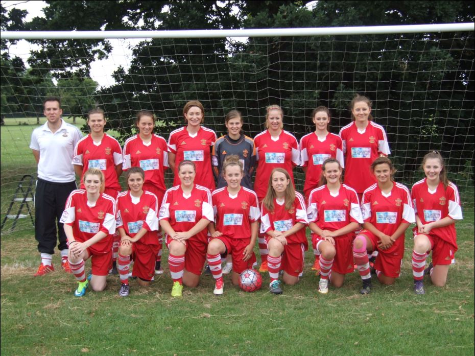 Saints Ladies Team Photo