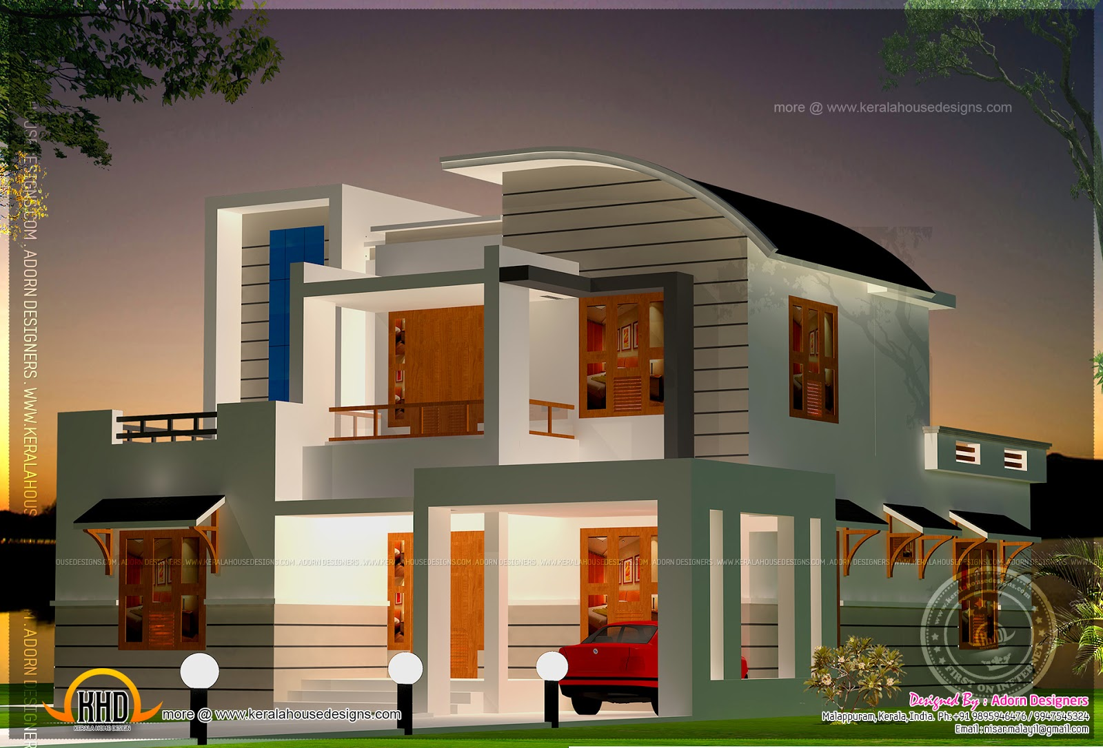 Design style modern mix modern mix house