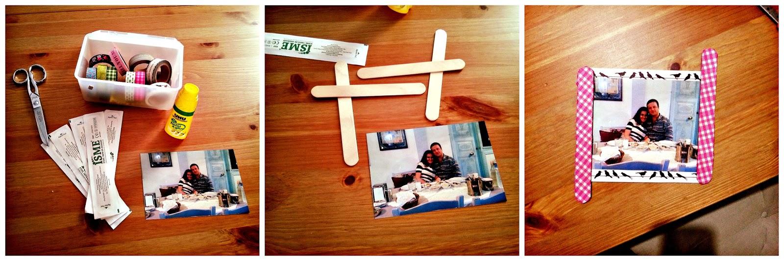 washi band frame