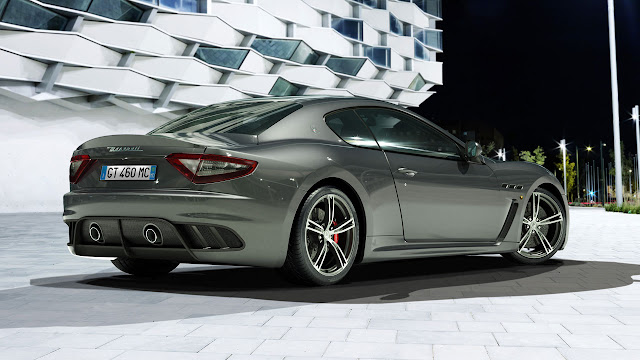 Maserati four seater Granturismo MC Stradale rear