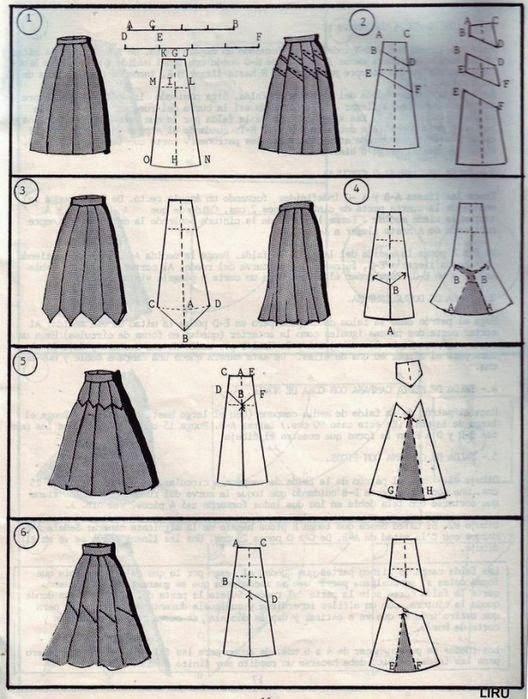 Как научиться кроить и шить юбки