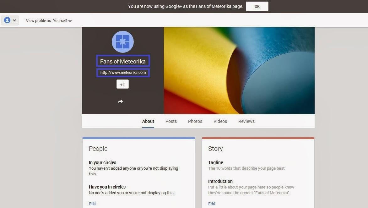 Cara Membuat Halaman Google+