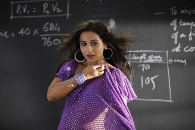 Vidya Balan Glamorous Wallpaper-Dirty Picture