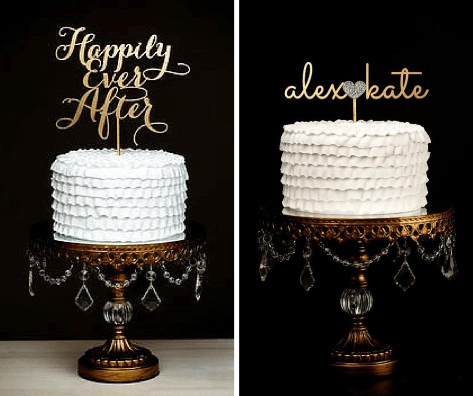 интересен топер за сватбена торта