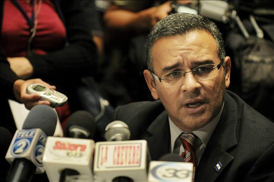 Mauricio Fumes, President of El Salvador. Image from Todanoticia.com.