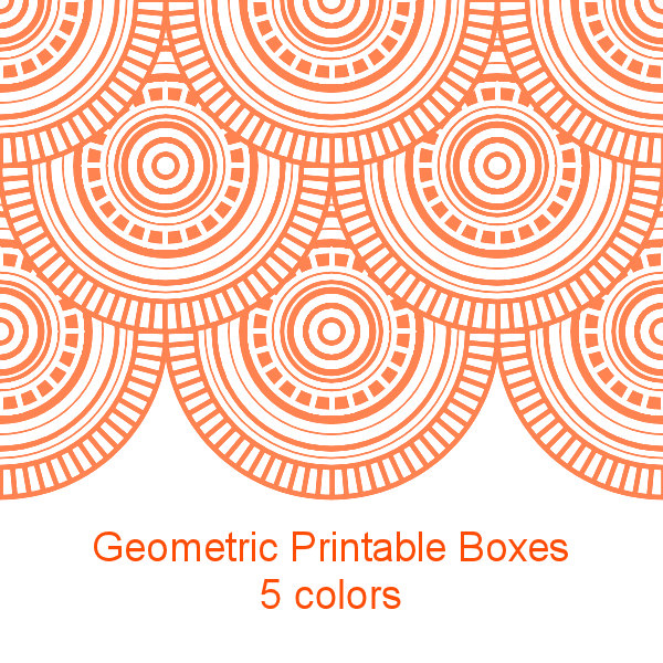 Don T Eat The Paste Circle Pattern 2x2 Printable Boxes In