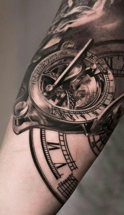 That old school time piece as a new school tattoo ~ WHO IS JAYE
