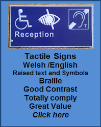 Tactile Signs for Sales