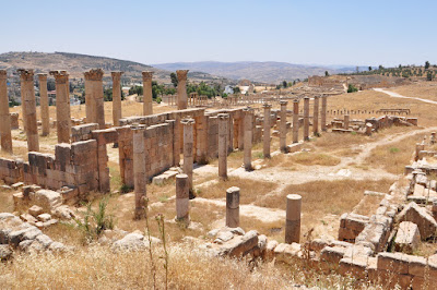 Antigua ciudad grecorromana de Jerash